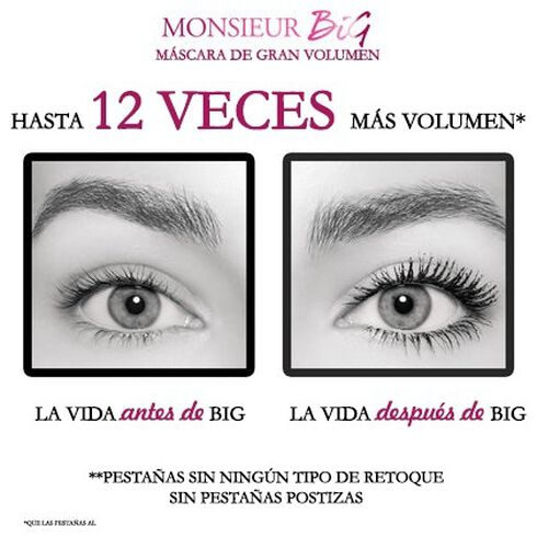 Monsieur Big Mascara